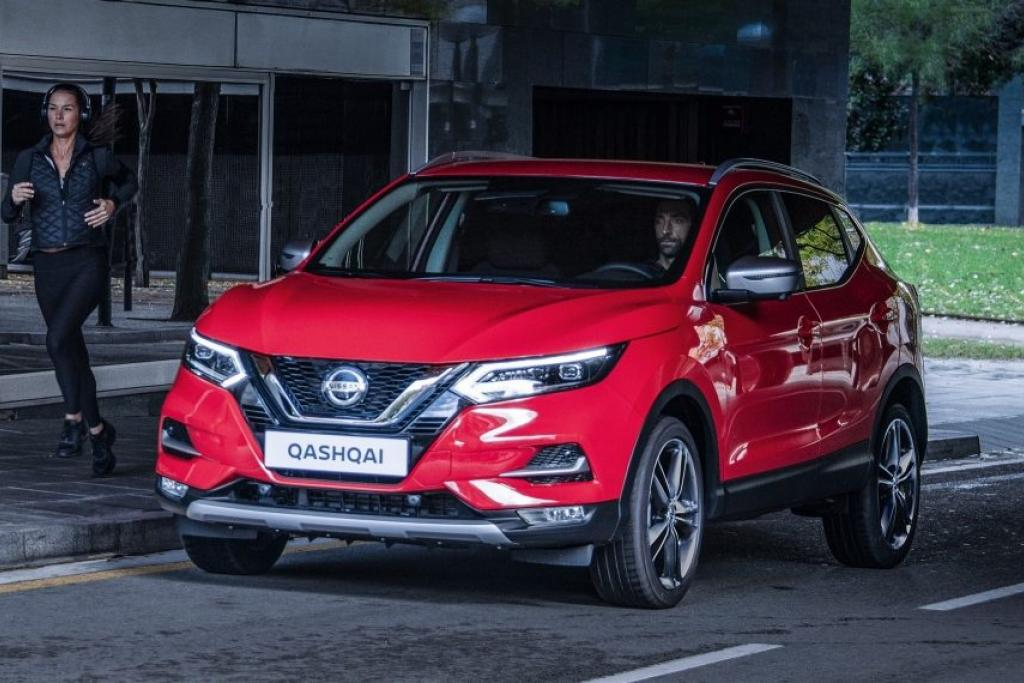 Nissan Qashqai N-Motion Solid Red