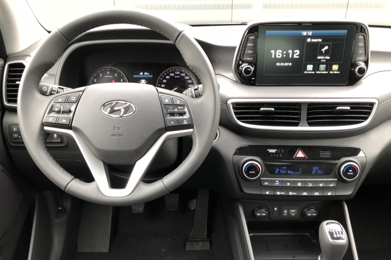 Hyundai Tucson Feel Comfort Pack Pepper Grey 1.6 GDi 132PK Interieur