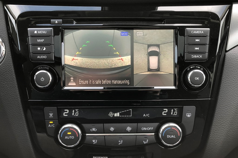 Nissan Qashqai N-Motion Around View Monitor (AVM: 360° camera)