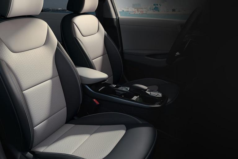 New Hyundai Ioniq Electric interieur Shale Grey