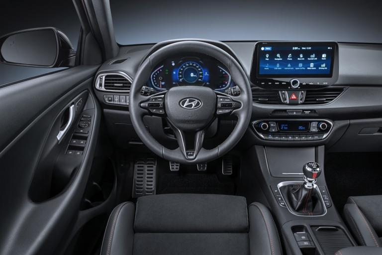 New Hyundai i30 N-Line 2020 interieur