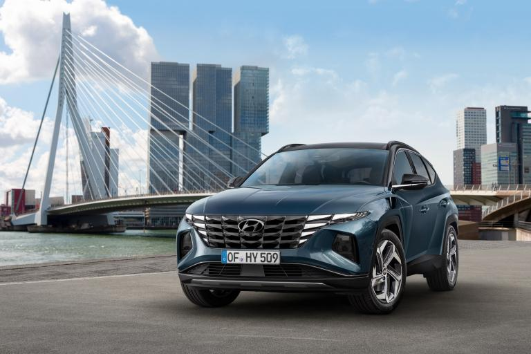 All New Hyundai Tucson 2020 exterieur