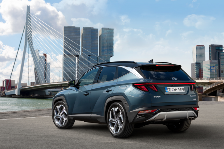 All New Hyundai Tucson 2020 rear