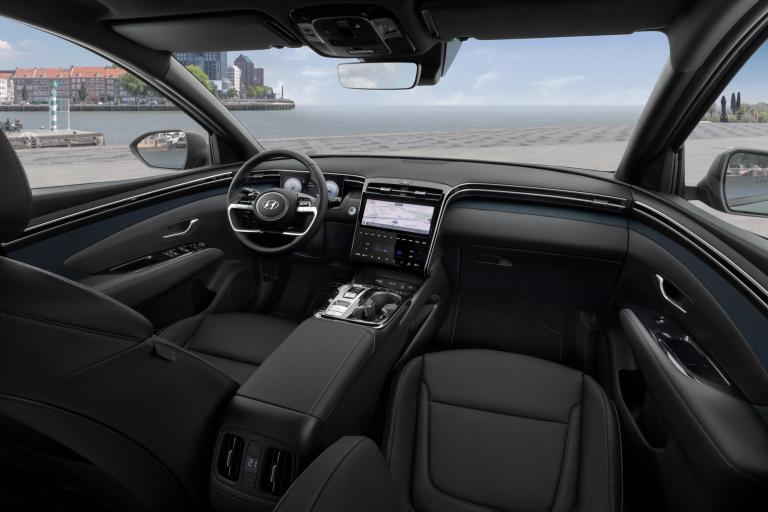 All New Hyundai Tucson 2020 interieur