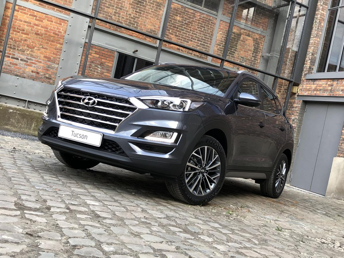 Hyundai Tucson Feel Comfortpack 1.6 GDi 132PK Pepper Grey
